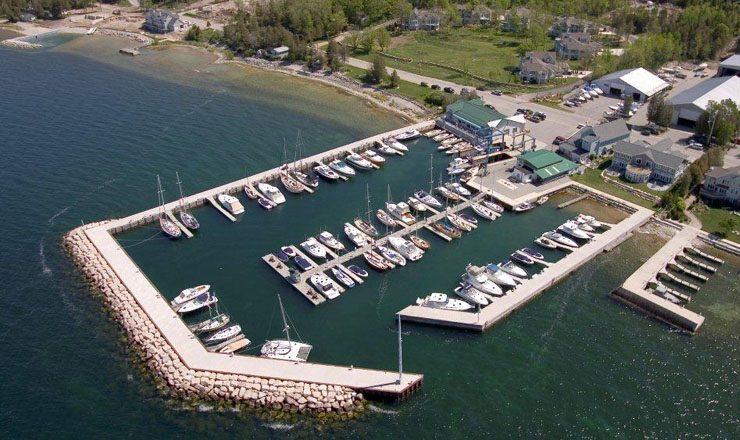 Yacht Works Marina Aerial