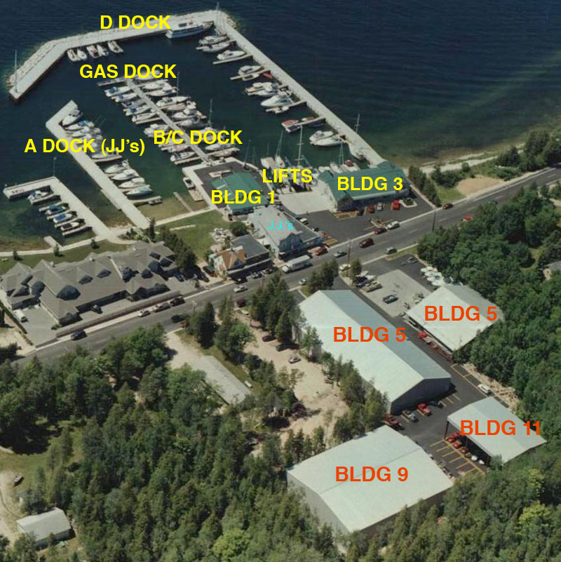yacht works marina facility